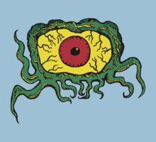 Crawling Eye Monster Kids Tee