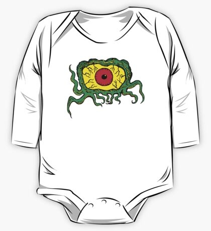 Crawling Eye Monster One Piece - Long Sleeve