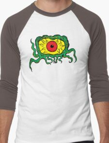Crawling Eye Monster Men's Baseball ¾ T-Shirt
