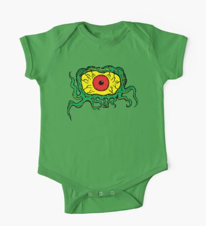 Crawling Eye Monster One Piece - Short Sleeve