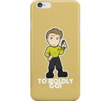 To Boldly Go! iPhone Case/Skin