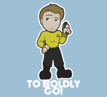 To Boldly Go! Kids Tee