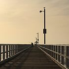 Jetty at dawn by neoellis