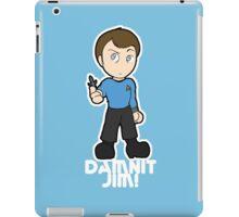 Damnit Jim! iPad Case/Skin