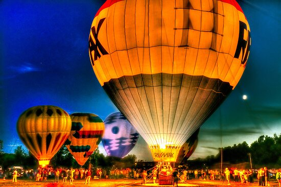 Hot Air Balloon Festival by LudaNayvelt