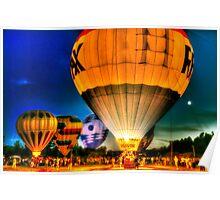 Hot Air Balloon Festival Poster