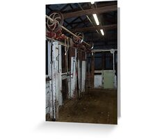 The Board - Maroona Shed Greeting Card