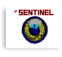 The Sentinel - 80's video games Canvas Print