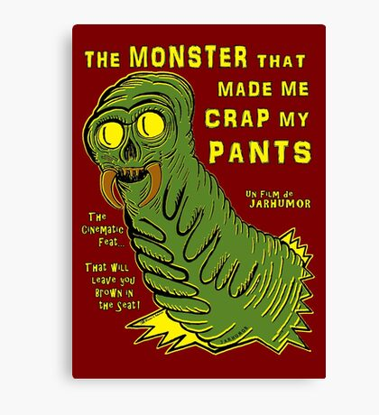The Monster That... Canvas Print