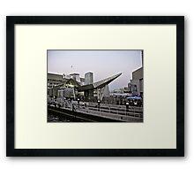 New England Aquarium - Long Wharf - Boston Framed Print