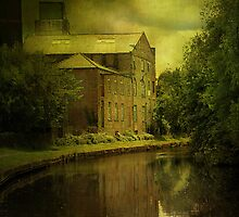 The Old Mill. by Irene  Burdell