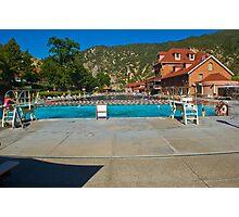 Glenwood Hot Springs Pool Photographic Print