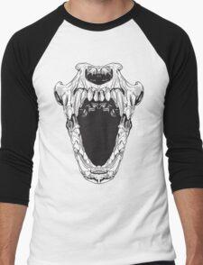 Skull teeth Men's Baseball ¾ T-Shirt