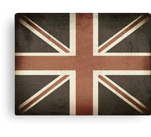 Vintage United Kingdom Flag Canvas Print