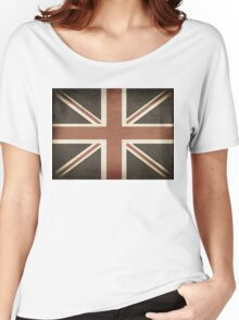 Vintage United Kingdom Flag Women's Relaxed Fit T-Shirt