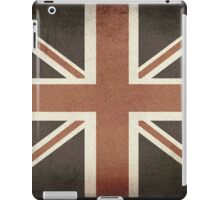 Vintage United Kingdom Flag iPad Case/Skin