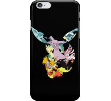 pokemon eevee espeon umbreon sylveon leafeon vaporeon glaceon jolteon flareon anime manga shirt iPhone Case/Skin