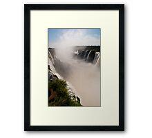 Iguazu Falls - Devil's Gorge Area Framed Print