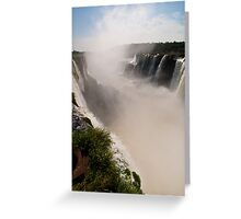 Iguazu Falls - Devil's Gorge Area Greeting Card