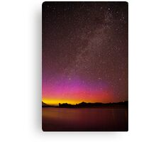 Northern Lights Over the Snake River Canvas Print