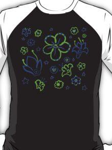 Retro Florals-Limeade Palette T-Shirt