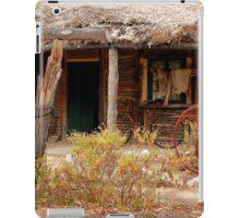 Australian Heritage Town Trappers Hut iPad Case/Skin