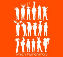 Which humanimal? White by Brett Perryman