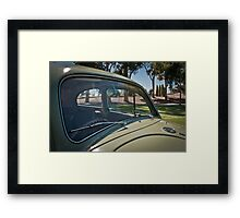 Volkswagen Windscreen Framed Print