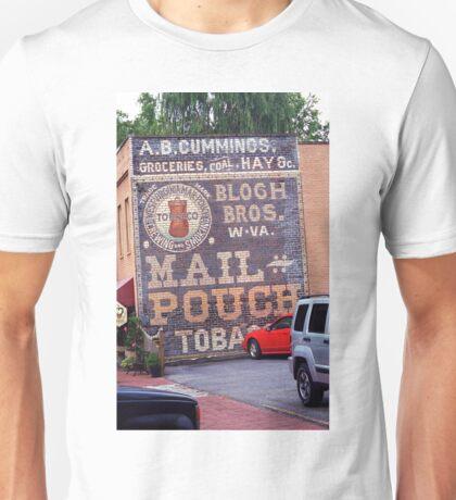 Jonesborough, Tennessee - Ghost Mural Unisex T-Shirt