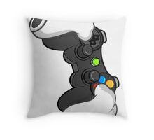 Good Gloves • Video Games Throw Pillow