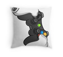 Good Gloves • Video Games Throw Pillow
