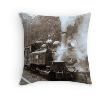 Wet afternoon in the Dandenongs Throw Pillow