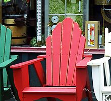 Jonesborough, Tennessee - Comfy Chair by Frank Romeo