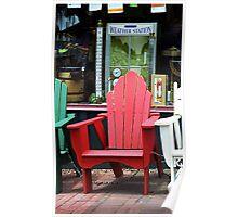 Jonesborough, Tennessee - Comfy Chair Poster