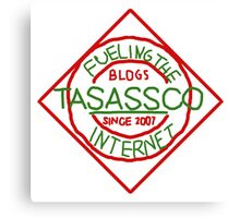 taSASSco Fuels The Internet Canvas Print