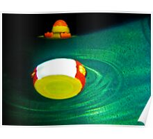 Hot Tub Ducky Poster