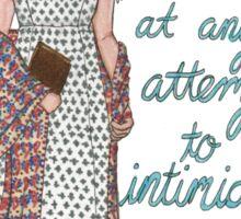 Lizzie Bennett Sticker