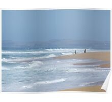 Desal' Beach, Wonthaggi Poster