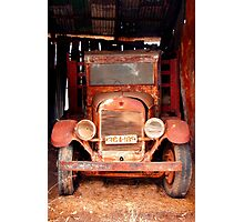 Rusting Truck Photographic Print