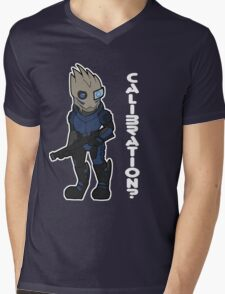 Calibrations? Mens V-Neck T-Shirt