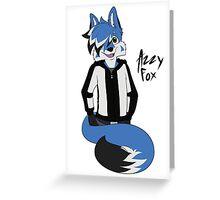 AzzyFox Greeting Card