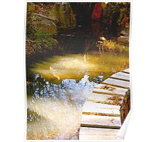 sacred golden pond... mystical place Poster