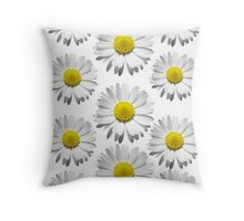 Daisies :3 Throw Pillow