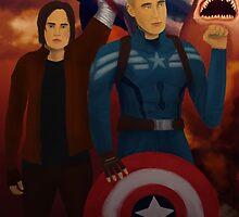 Captain America: the Sharknado by JayTheTaurus
