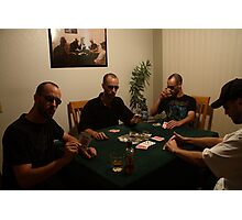 The Poker Game II Photographic Print