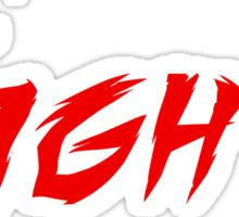 FIGHT! Sticker