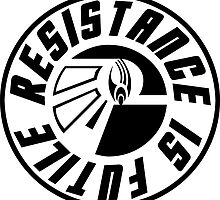 Borg Resistance Is Futile by freeformations