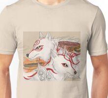 Amaterasu and Shiranui Unisex T-Shirt