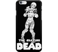 The Skating Dead: Roller Derby Zombie iPhone Case/Skin