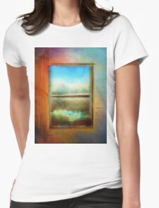 Window to Anywhere Womens Fitted T-Shirt